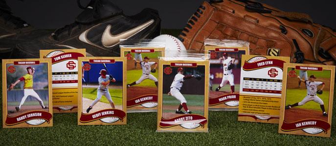 USC-baseball-trading-cards